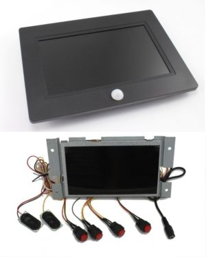 Self Contained POP Video Screens - Housed and Modules