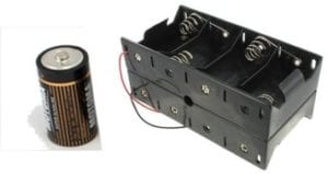 Batteries & Battery Holders