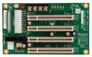 PCI/PCI Express Passive Backplanes